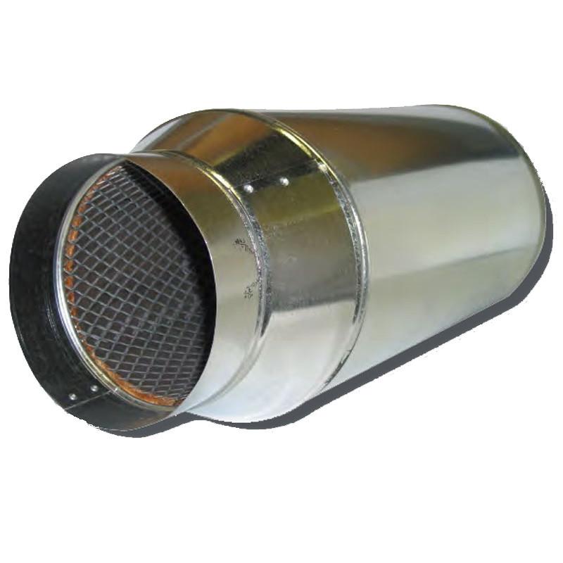 Round Duct Noise Muffler Silencer