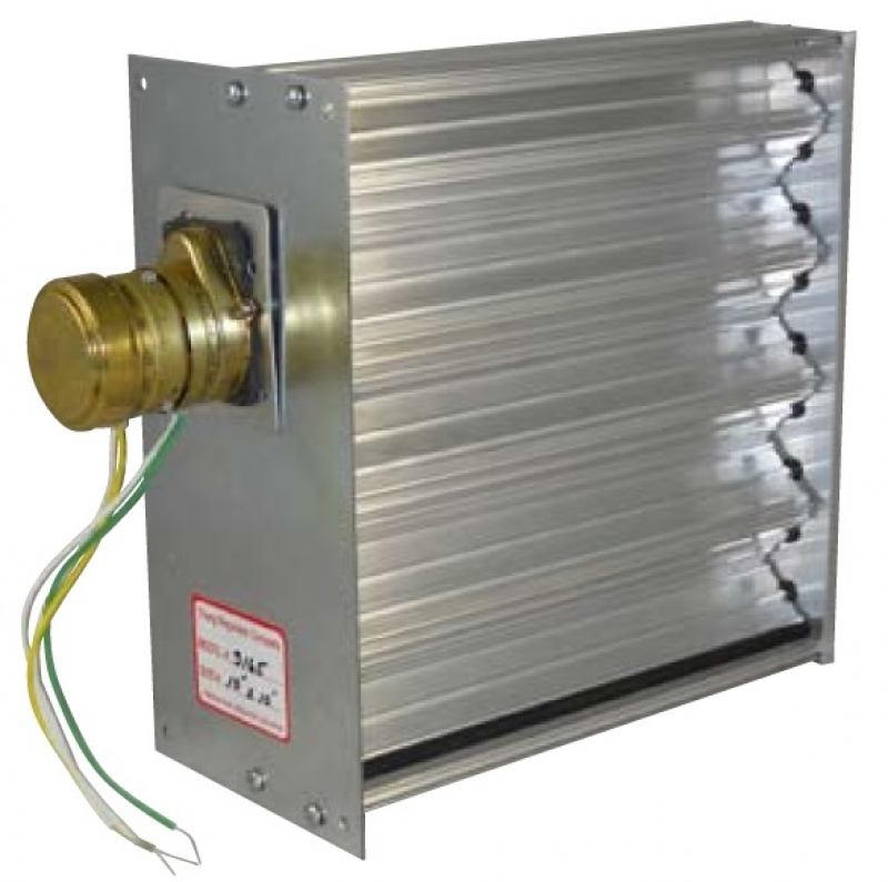 Po Pc Opposed Blade Duct Damper 6 Quot Thru 12 Quot Sizes