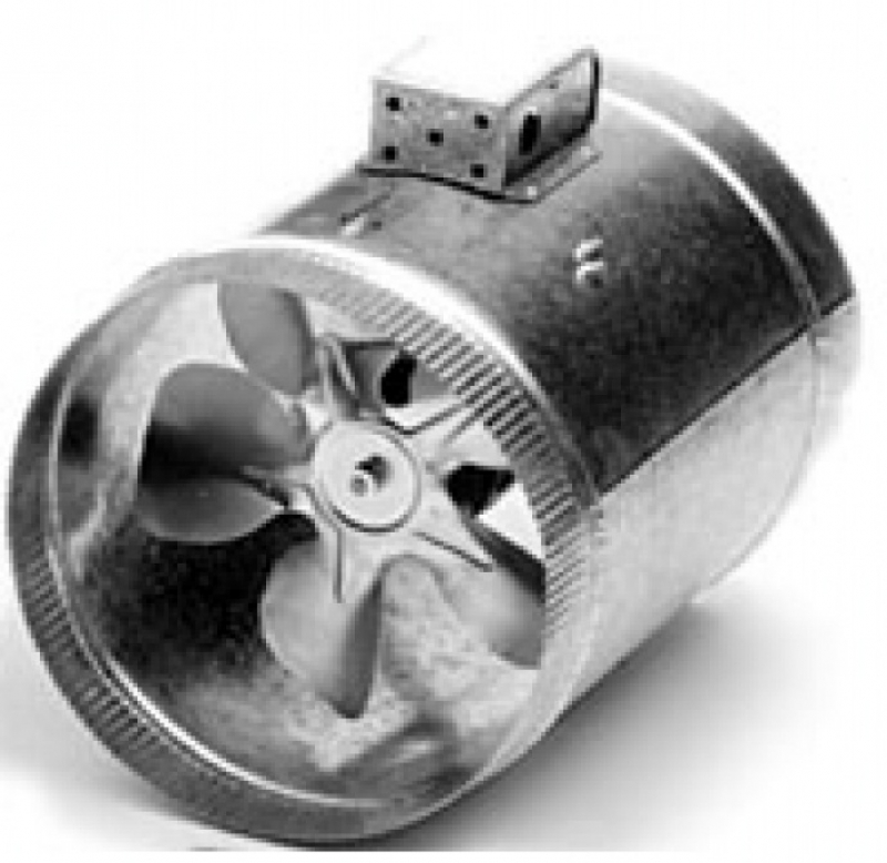 "IN-LINE DUCT BOOSTER FAN 6"" thru 14"" Duct"