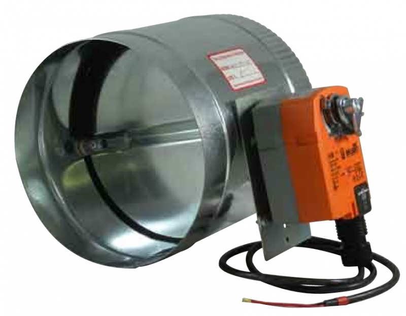 SPRING RETURN High Torque Commercial Motorized Damper
