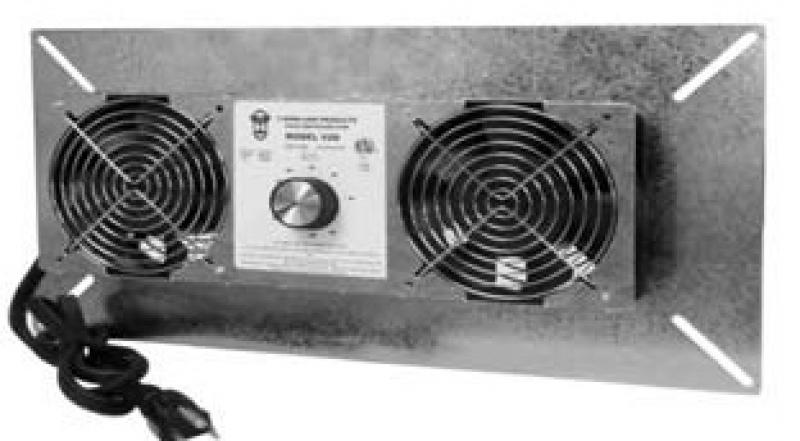 Crawl Space Vent Fans : Tjernlund underaire crawl space ventilation fan