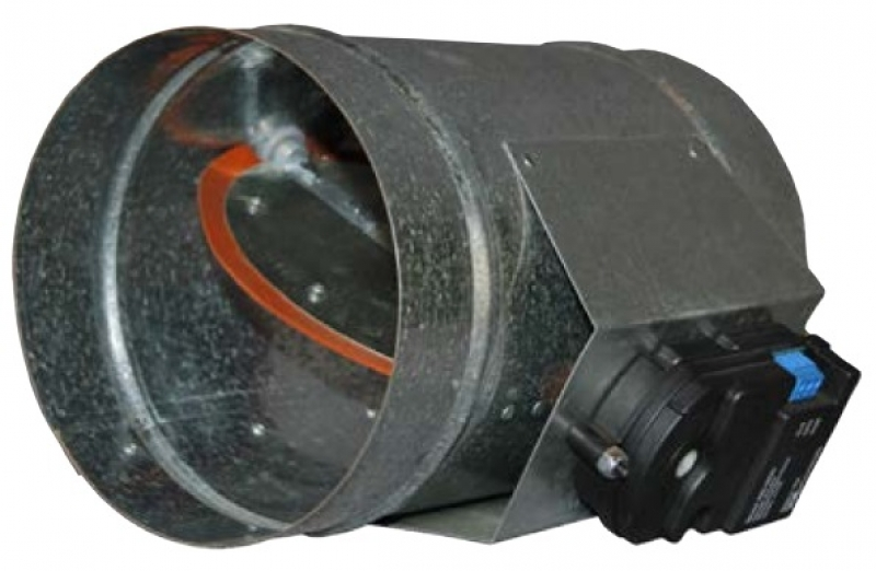WIRELESS VARIABLE Air Flow Duct Zone Damper PO/PC
