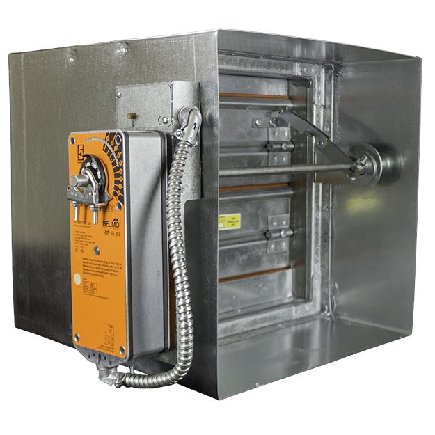 Fire Smoke Control Duct Damper Rated 3 Hr