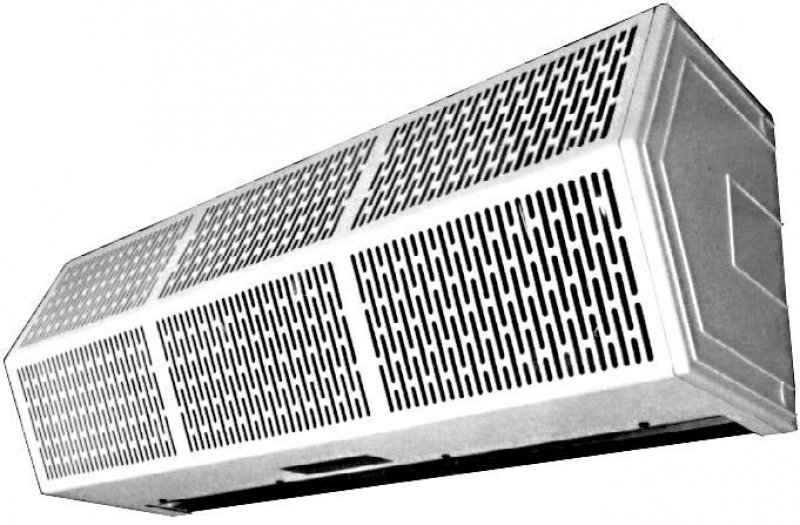 HIGH PERFORMANCE Heated Air Curtain SPLIT VOLTAGE / PHASE