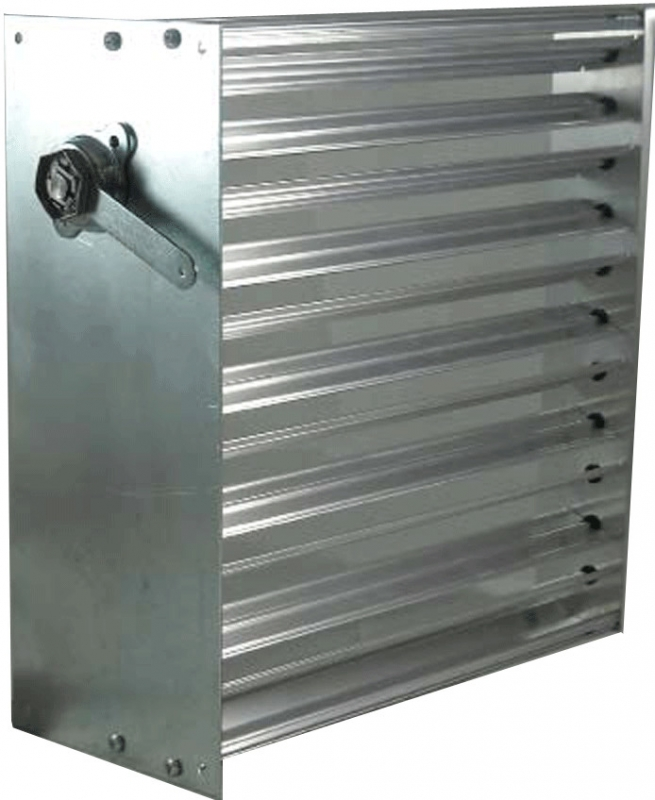 AIR BALANCING Slip-In Manual Damper 6
