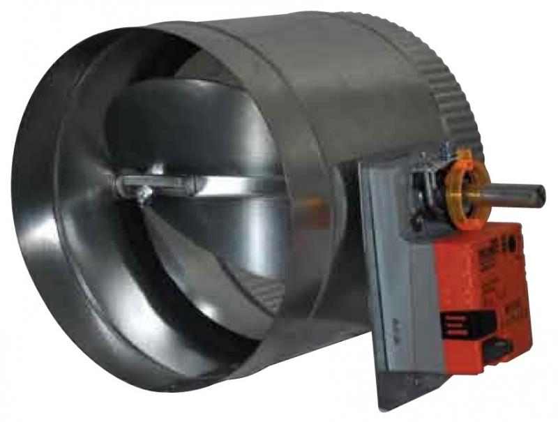 VAV MODULATING Motorized 24V Zone Damper 2-10VDC