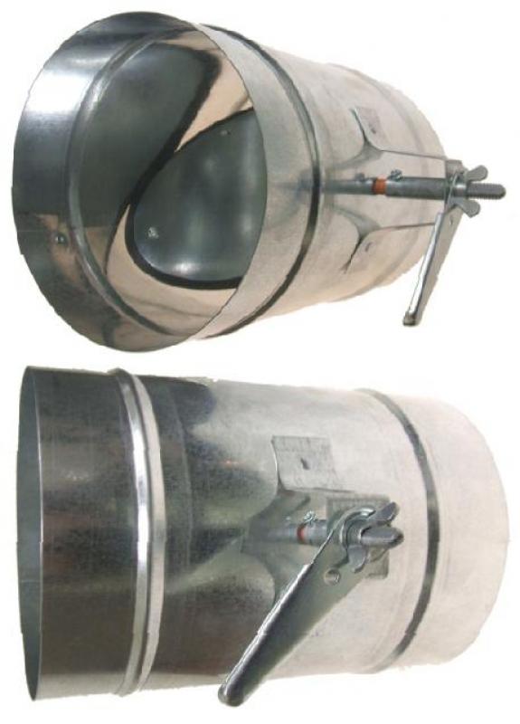 Manual AIR BALANCE Duct Damper | Standard Regulator