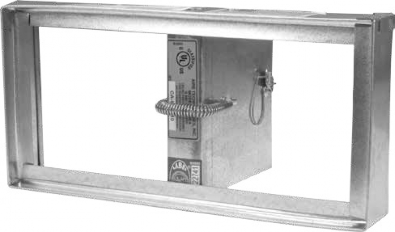 Dual Blade Ceiling Radiation Fire Damper 3 Hr Ul Rated