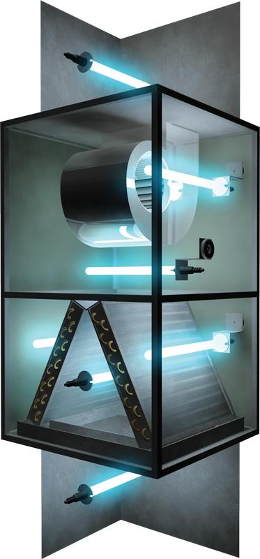 Fresh Aire Blue Tube Uv Germicidal Lamp