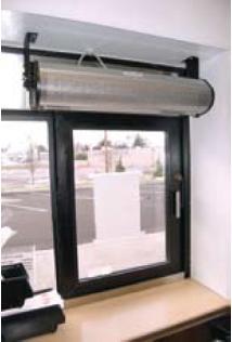 Berner Drive Thru Dtu03 Air Curtain Unheated